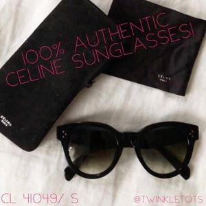 ❣️SALE! 100% Authentic Celine Sunglasses 🕶
